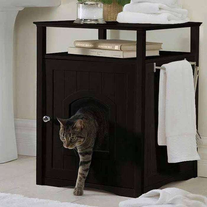 Тумба-будка для кота