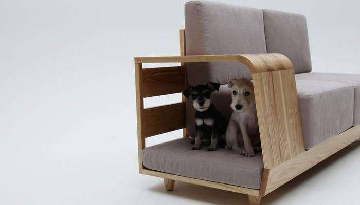 Диван Dog House Sofa, дизайнер Сеунгжи Мун (Seungji Mun)