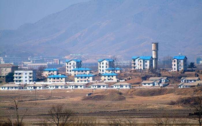 Киджондон - Потемкинская деревня на границе Корейской Народно-Демократической Республики и Республики Корея