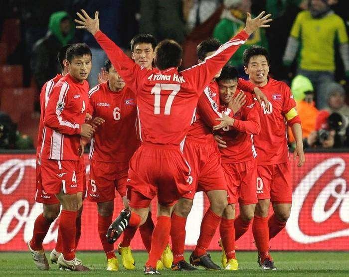 Победа сборной КНДР на Чемпионате мира по футболу 2014 в Бразилии