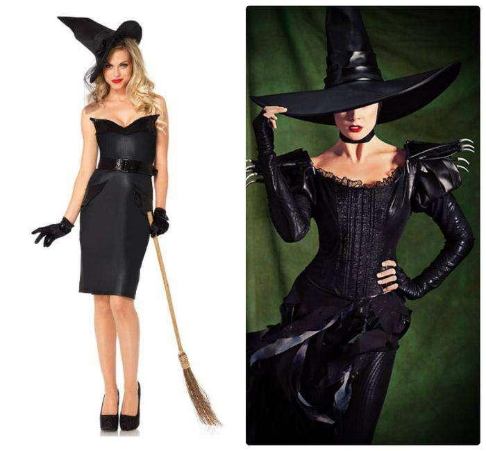 Образ ведьмы на Новый год