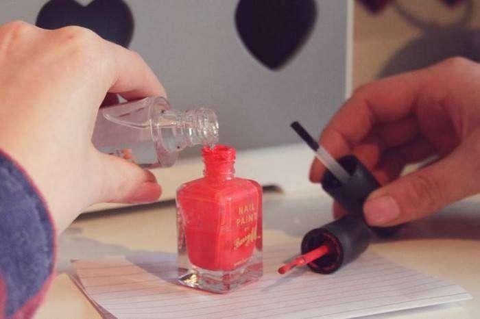 Чем можно разбавить лак для ногтей в домашних условиях 204