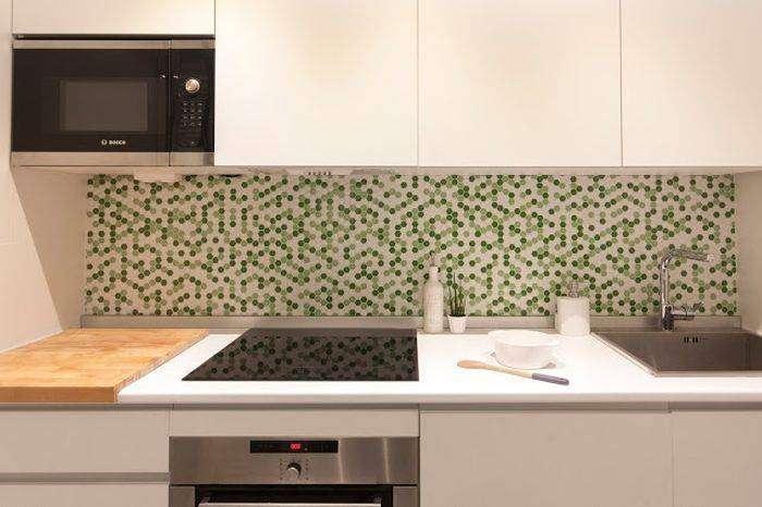 Лаконичный интерьер кухни в скандинавском стиле