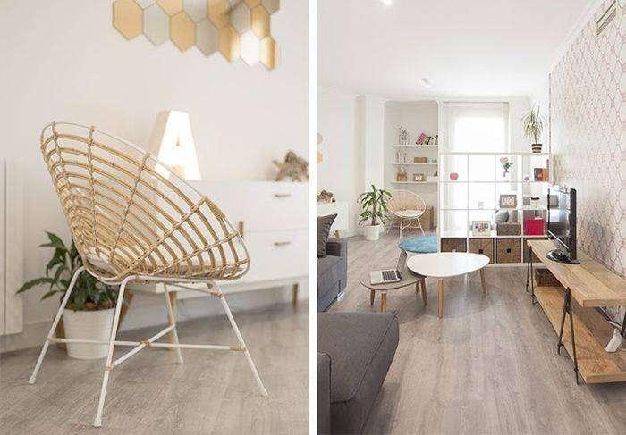 Лёгкая и лаконичная мебель