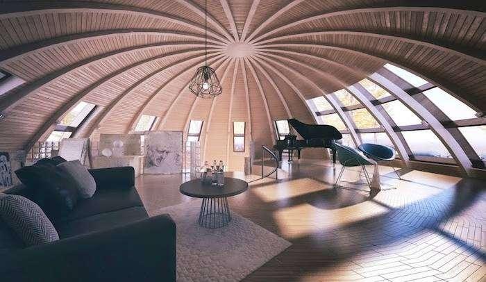 Архитекторский проект российской фирмы Skydome.