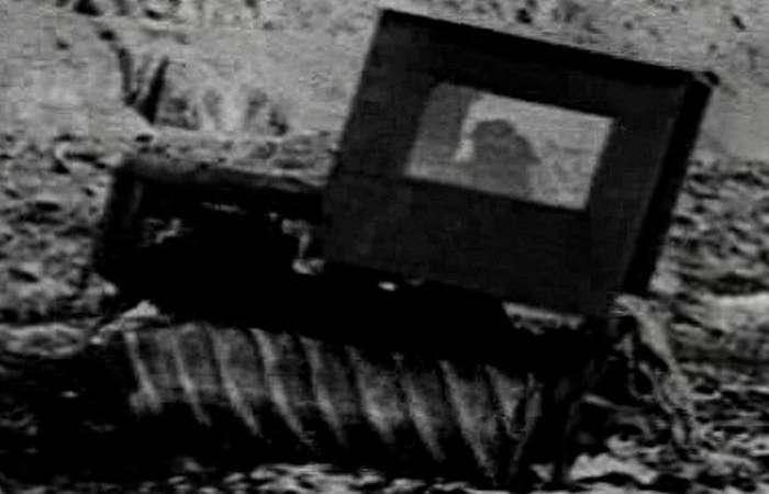 Винтовой (роторный) танк.