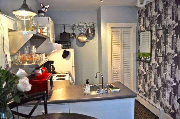 Кухня, оборудованная на площади 12,5 кв. метров.