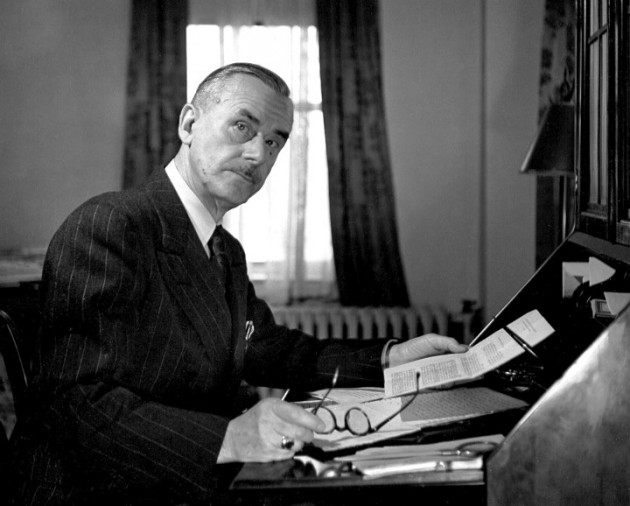 Томас Манн, немецкий писатель
