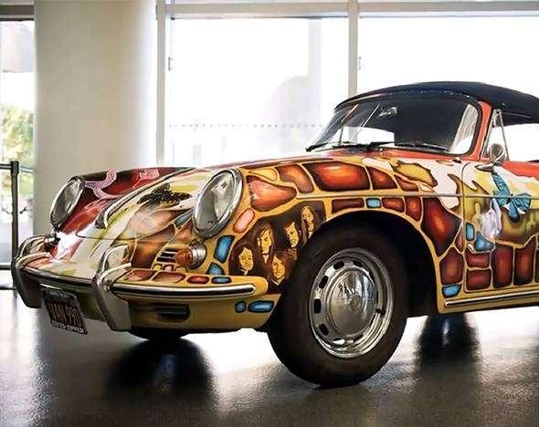 Porsche Дженис Джоплин продан с аукциона за $1,76 млн