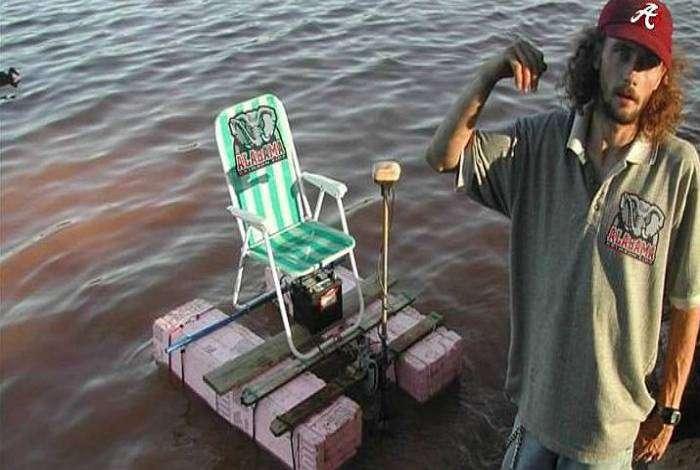 «Как прекрасно иногда, сесть на стул и уплыть в открытое море...»