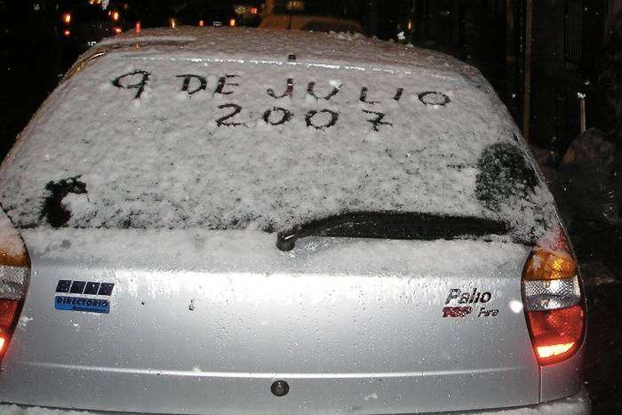 Аномальные снегопады