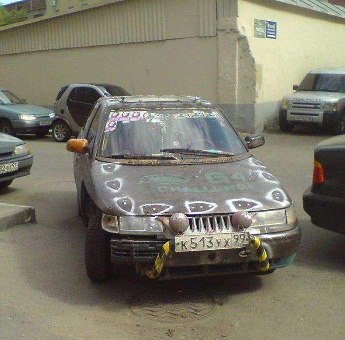 Роскошный автомобиль (2 фото)