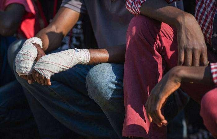 Кулачные бои Мусангве в ЮАР (12 фото)