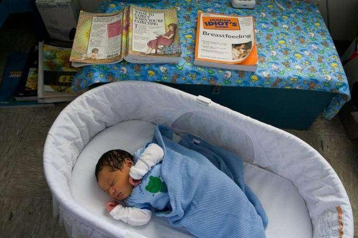 Материнство в американских тюрьмах (20 фото)