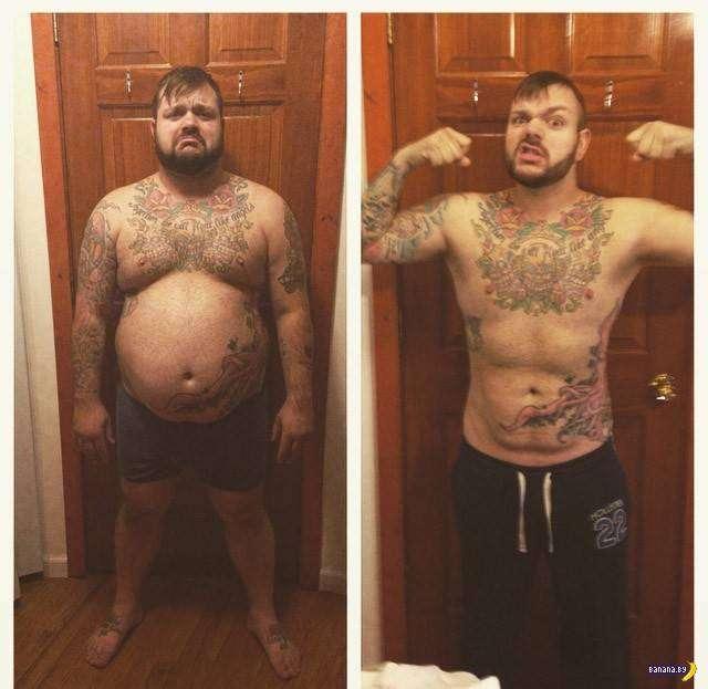 Похудевшие –фото до и после - 2