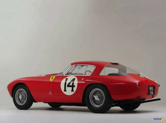 Carporn: 1953 Ferrari 340/375 MM Berlinetta 'Competizione'