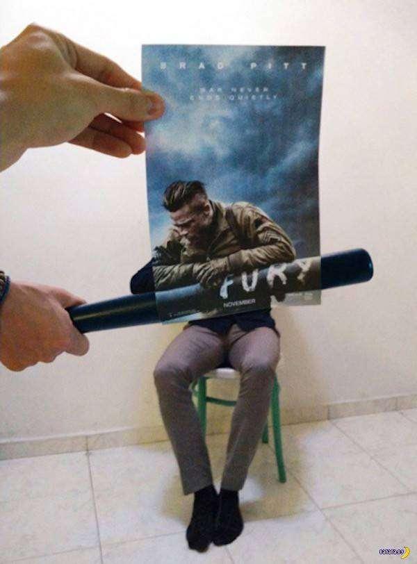 Продолжение киношных постеров
