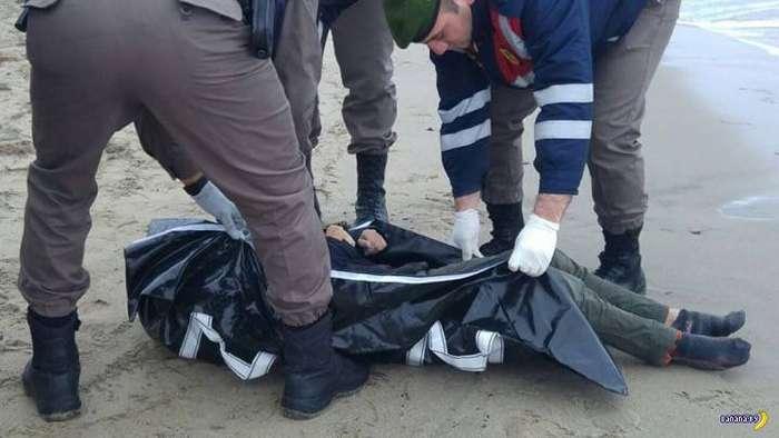 Трагедия на турецком пляже