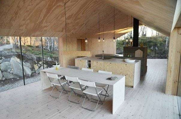 Уютный дом в норвежском городке Ол (10 фото)