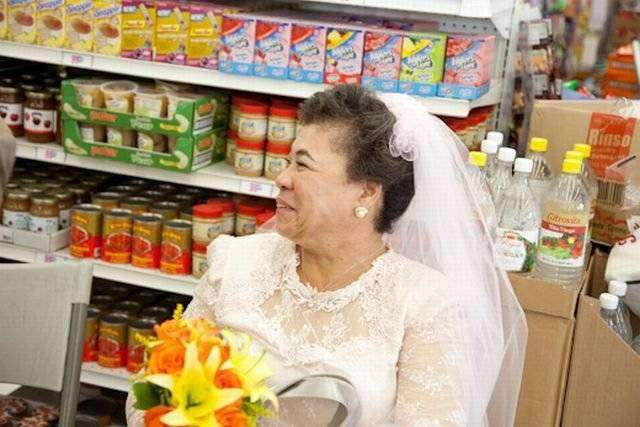 Нестандартная свадьба (20 фото)