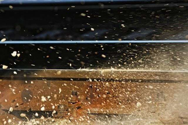 Сила поезда (9 фото)