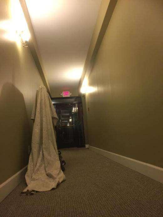 Простой способ напугать соседей (4 фото)