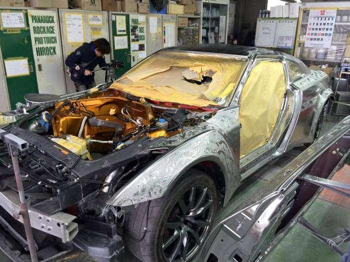 Роскошный японский тюнинг Nissan GT-R (20 фото)
