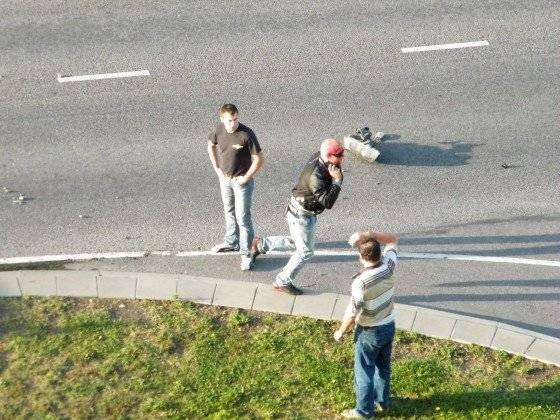 Веселая авария (9 фото)