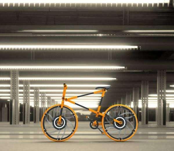 Складной велосипед (12 фото)