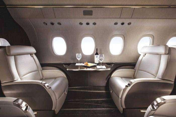 Внутри пяти самых роскошных частных самолетов в мире (16 фото)