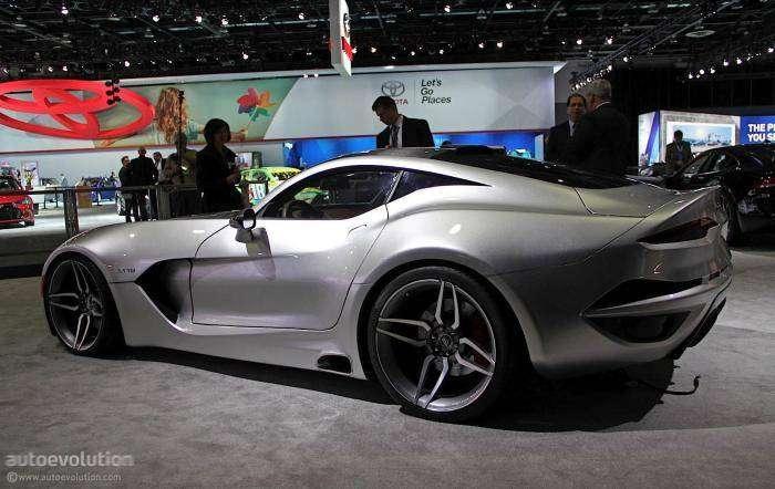 Суперкар VLF Force 1 от дизайнера Хенрика Фискера (17 фото)
