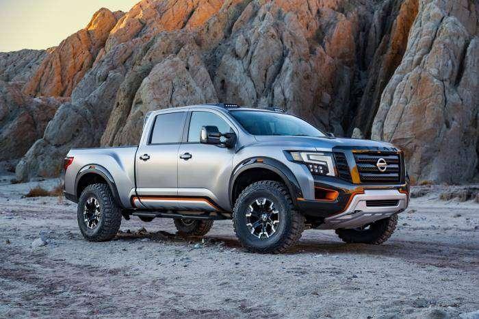 """Nissan представил """"воинственный"""" Titan (27 фото)"""