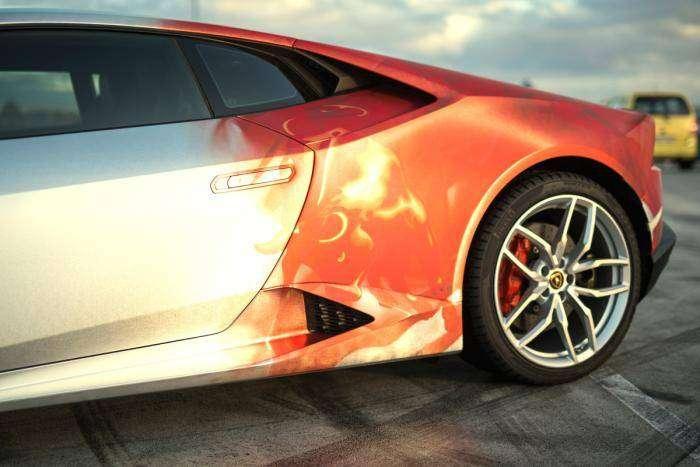 Оригинальный внешний вид для новенького Lamborghini Huracan (12 фото)