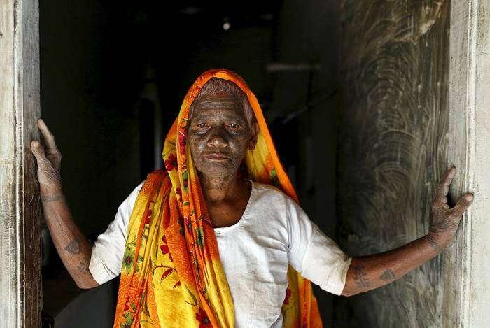 Члены индийской секты «Рамнами самадж» (21 фото)