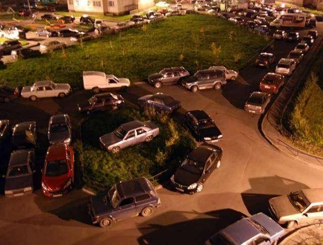 Русская парковка (3 фото)