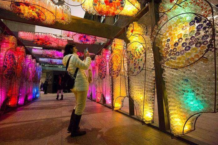 Фестиваль света в Лондоне (25 фото)