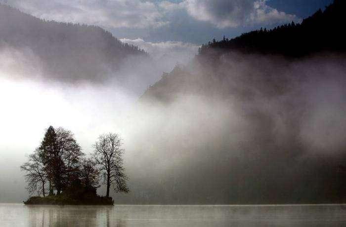 Туман (27 фото)
