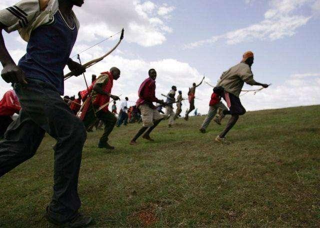 Война в Кении (18 фото)