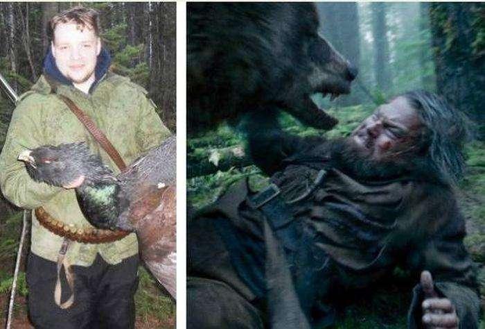 Реальная история, напоминающая сюжет фильма «Выживший» (5 фото)