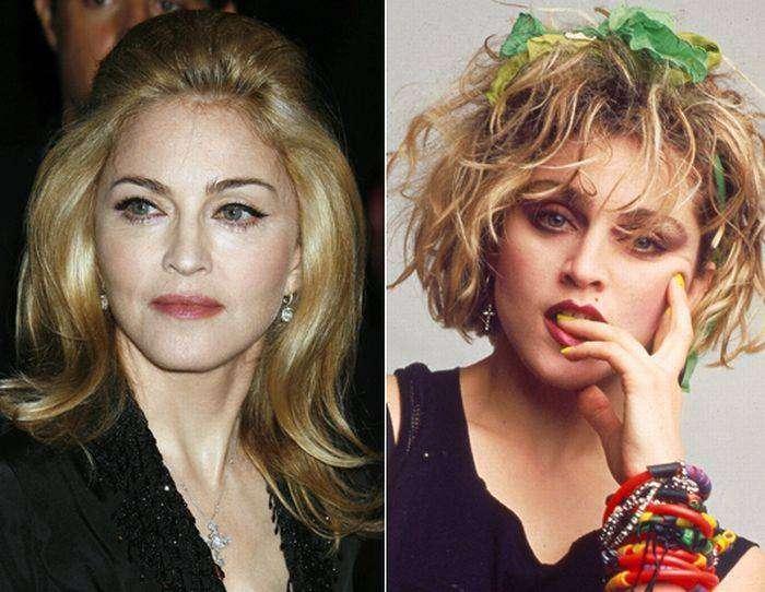 Секс-символы 80-х тогда и сейчас (13 фото)