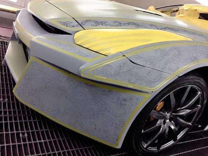 Самая сложная покраска автомобиля (25 фото)