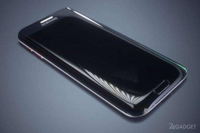 Samsung Galaxy S7 edge изогнули с трех сторон (19 фото + видео)