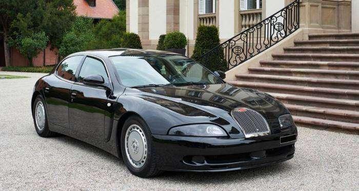 Bugatti EB112 (7 фото)