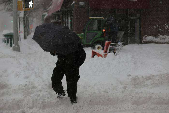 Соединенные Штаты Америки накрыл самый мощный циклон (41 фото)