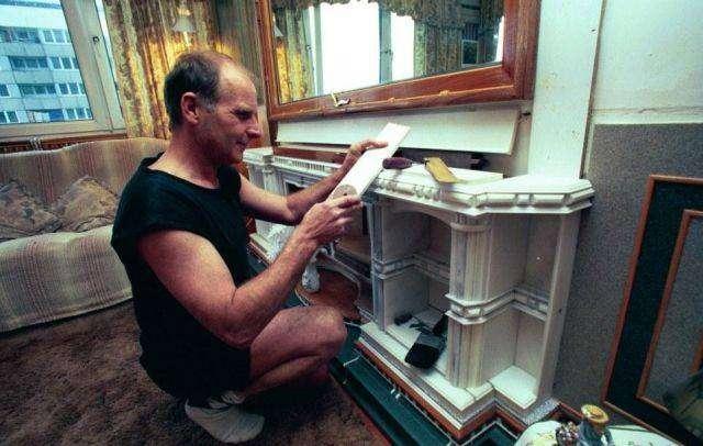 Превратил квартиру в дворец (6 фото)