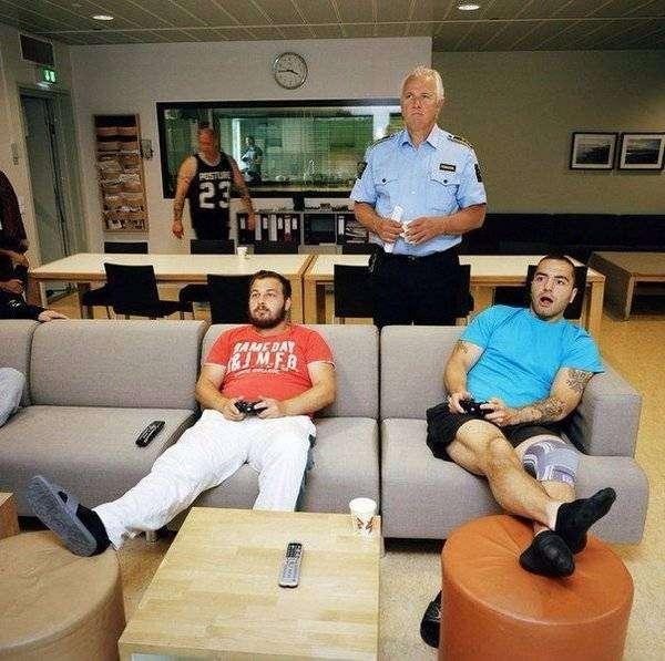 Норвежская тюрьма - альтернатива любому курорту (7 фото)