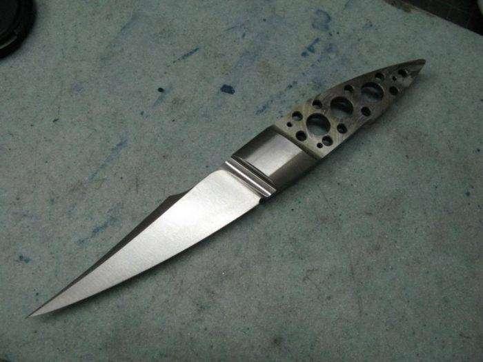 Великолепный нож от Ли Лермана (45 фото)