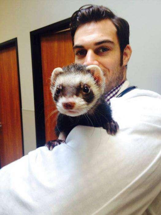 Эван Антин - самый привлекательный ветеринар в мире (33 фото)