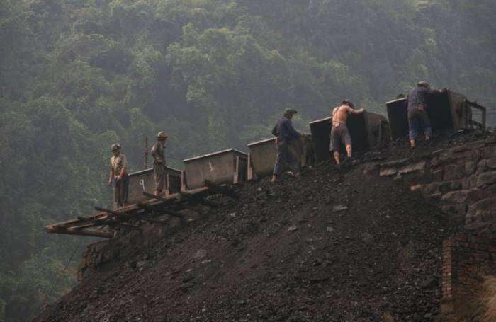 Китайские шахтеры (25 фото)