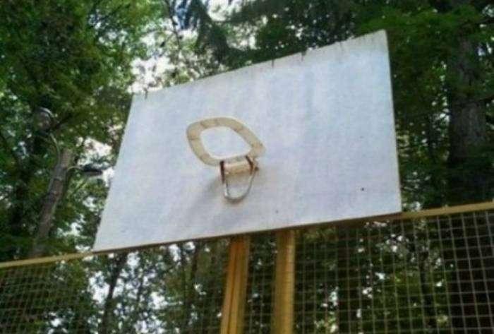 Баскетболисты с фантазией.
